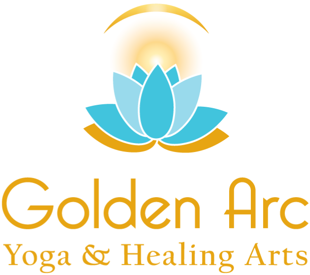 Golden Arc Healing Arts Retina Logo